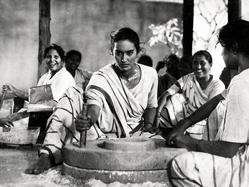 A film still from Bimal Roy's Bandini