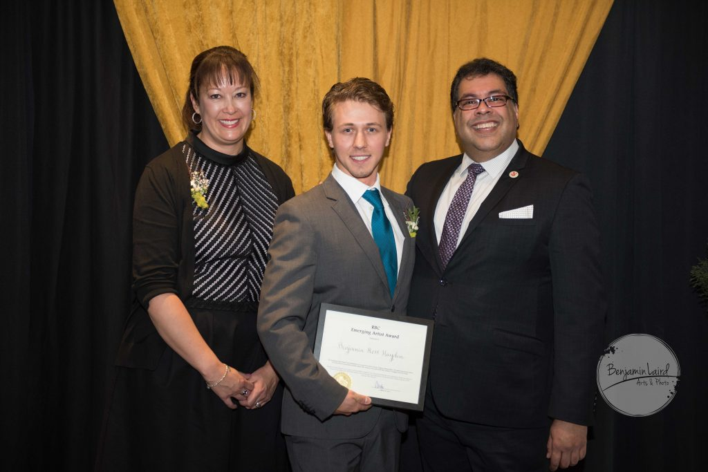 RBC Emerging Artist Award: Benjamin Ross Hayden