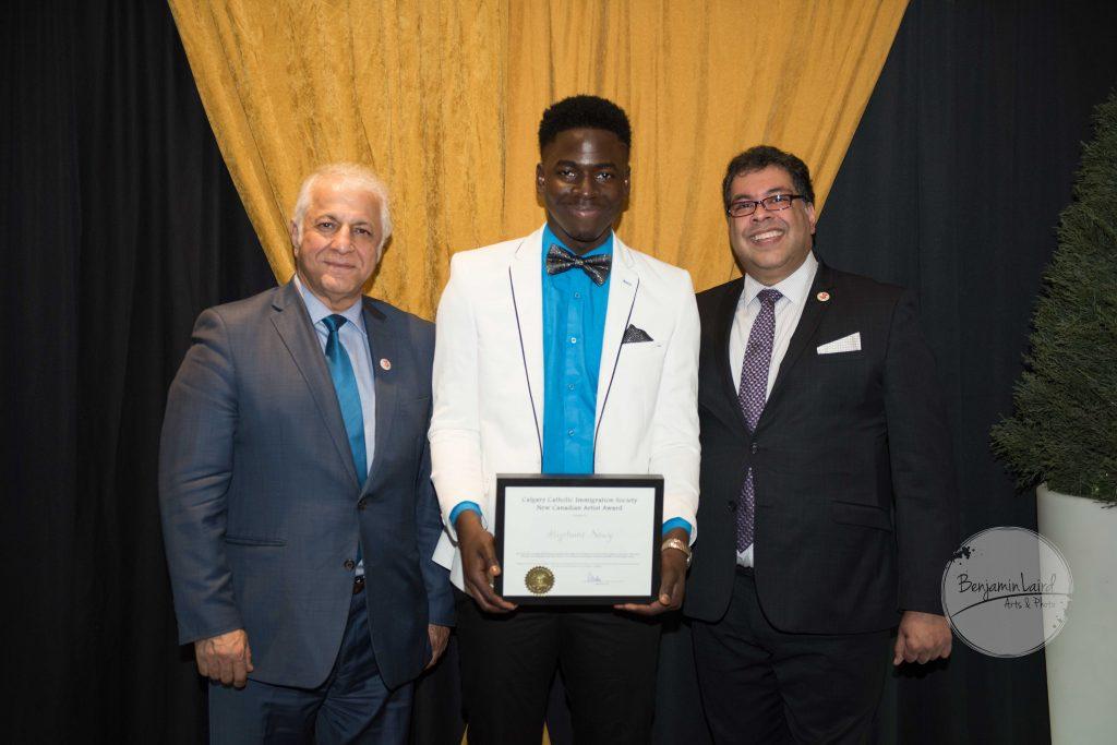 Calgary Catholic Immigration Society New Canadian Artist Award: Stephane Nouz
