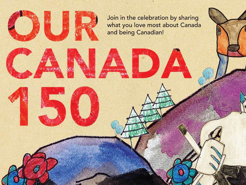 Poster for Our Canada 150