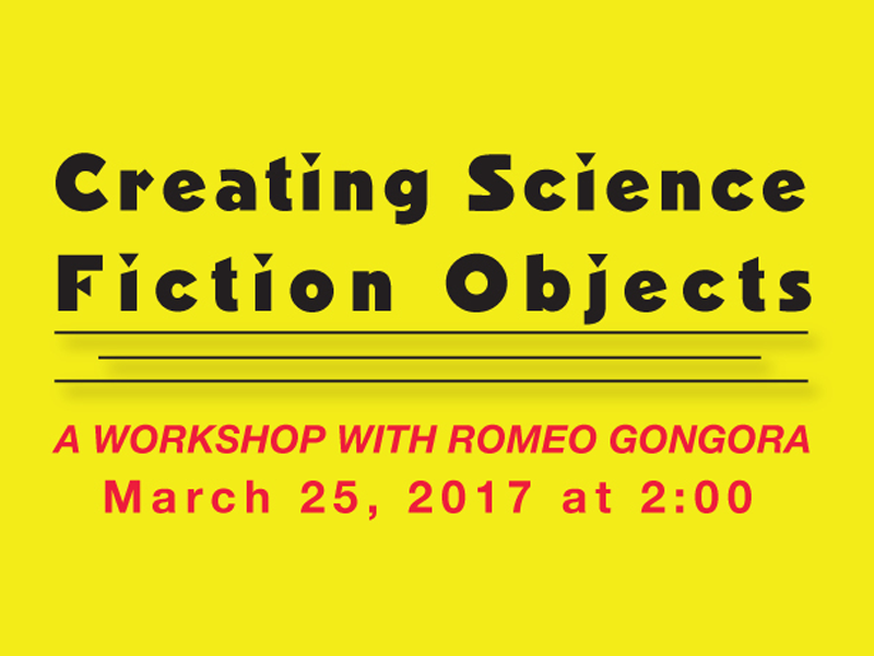 Poster for Creating Science Fiction Objects