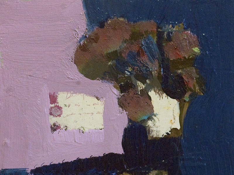 Jennifer Hornyak's Denim Blue with Cream and Pink
