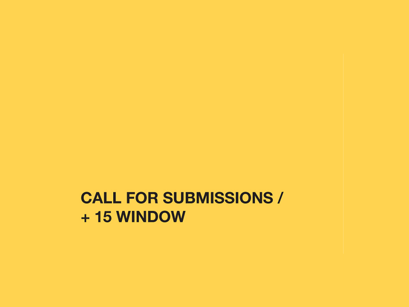 Image - +15 Calls for Submissions