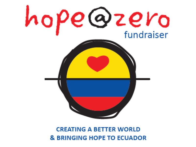 Poster for Hope@Zero Fundraising Event