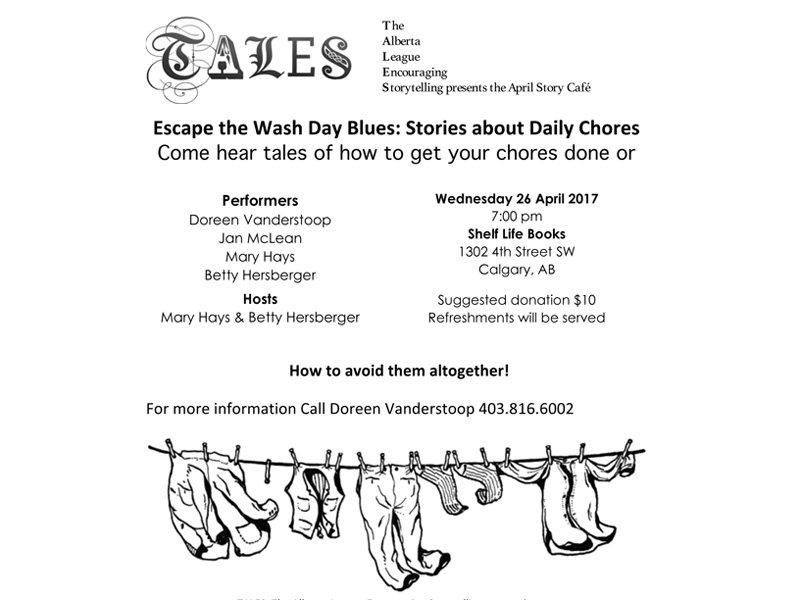 Poster for Escape The Wash Day Blues: Stories About Daily Chores