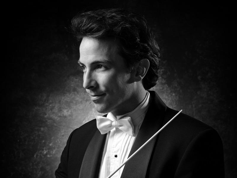 Portrait of Conductor Adam Johnson