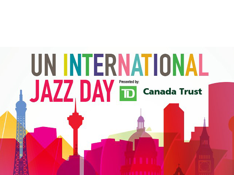 Poster for UN International Jazz Day
