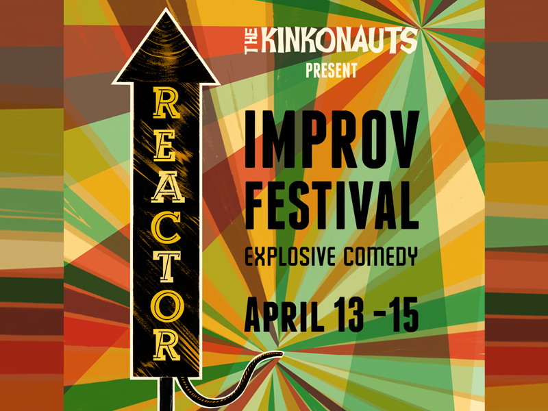Poster for the Reactor Improv Festival