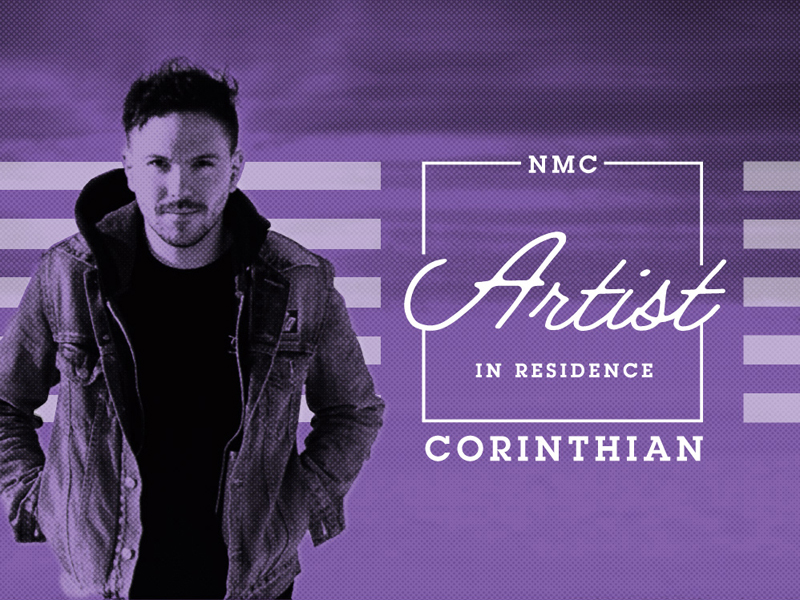 Poster for National Music Centre Artist in Residence Corinthian