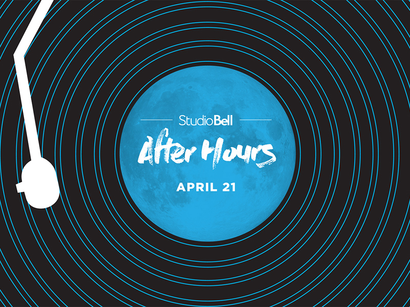 Poster for Studio Bell After Hours on April 21