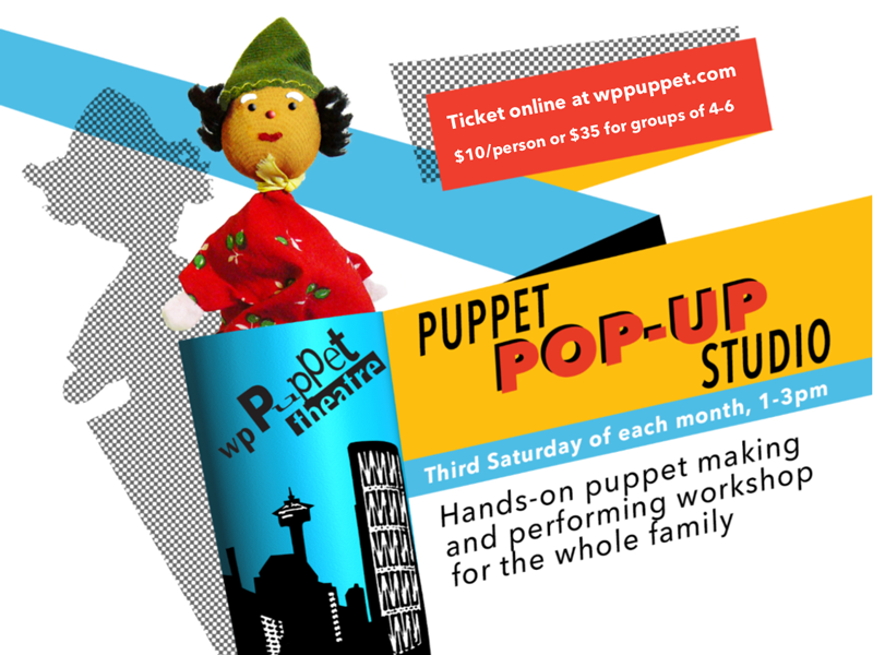 Poster for Puppet Pop-Up Studio: Rabbits
