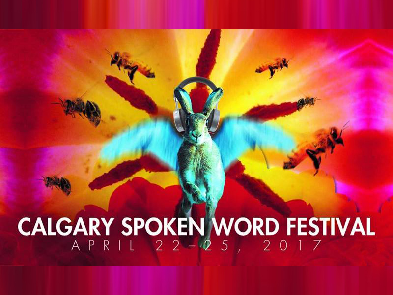 Poster for Calgary Spoken Word Festival
