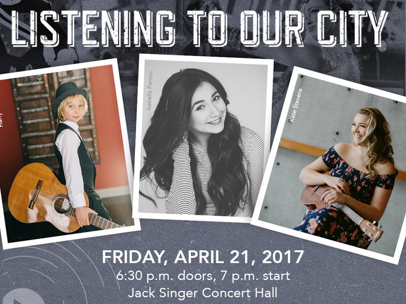 Poster for Listening to Our City