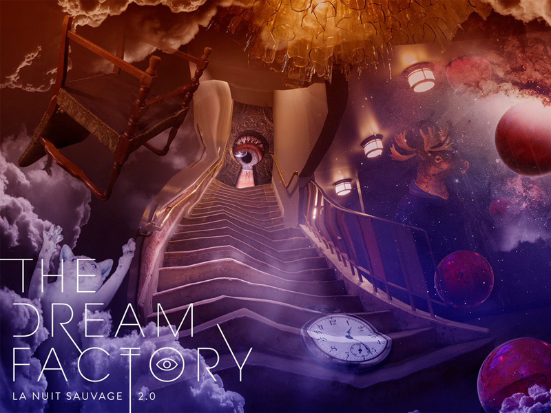 Poster for La Nuit Sauvage: The Dream Factory