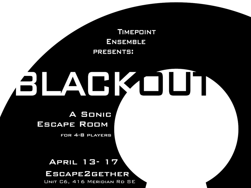Poster for Blackout: A Sonic Escape Room