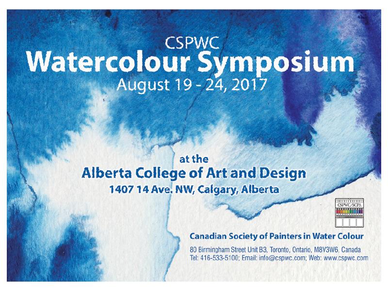 National Watercolour Symposium Cspwc