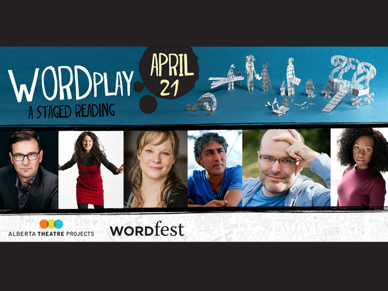 Poster for Wordfest & ATP Present Word Play