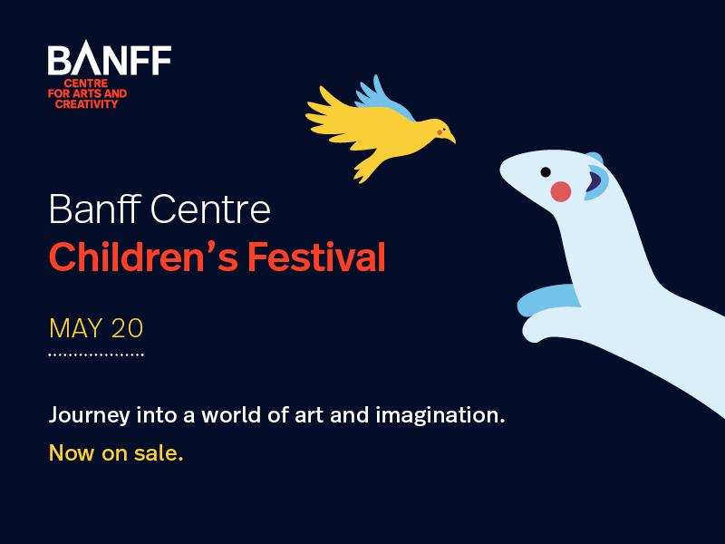 Poster for Banff Centre Children's Festival