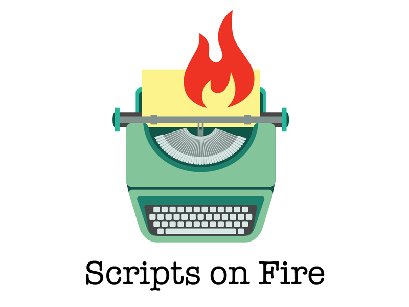 Logo Scripts on Fire