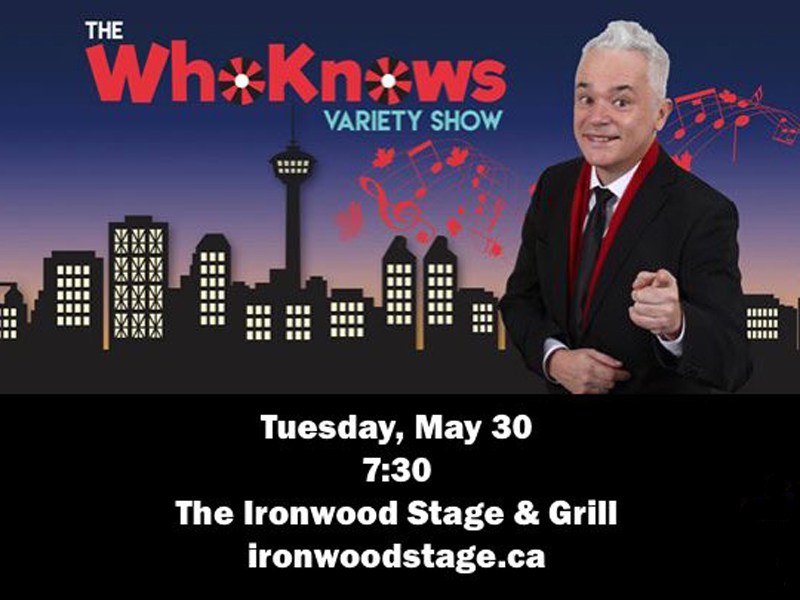 Poster for The WhoKnows Variety Show
