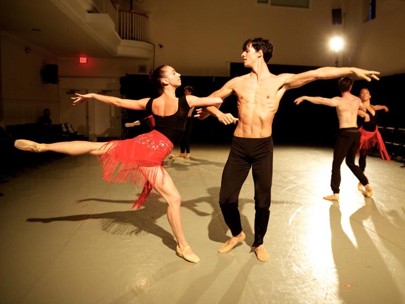 Dancers in Alberta Ballet's Our Canada