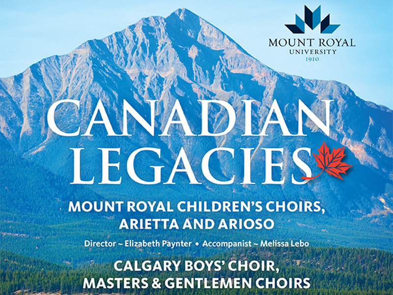 Poster for Canadian Legacies