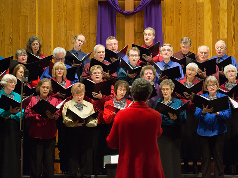 Calgary Multicultural Choir performs