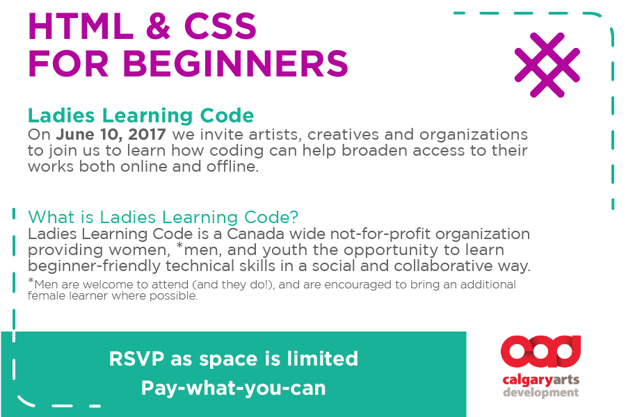 Postcard for HTML & CSS for Beginners