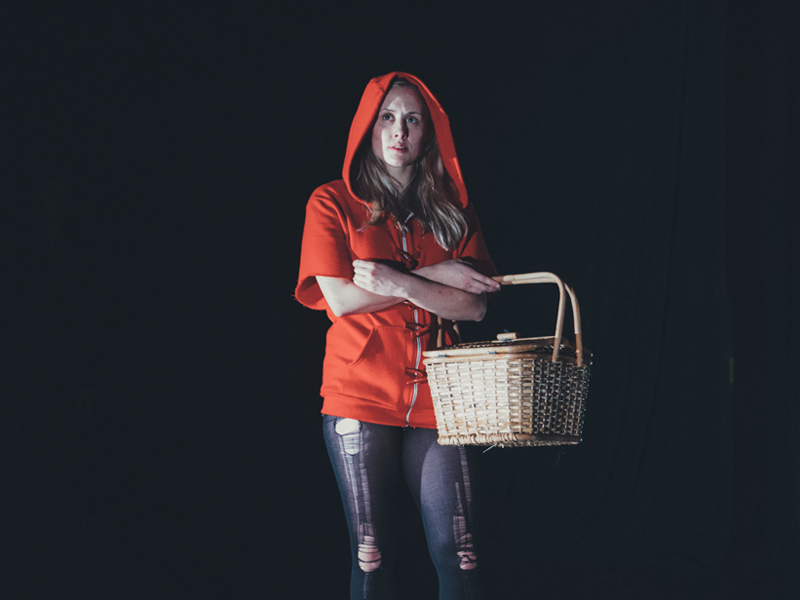Photo from Major Matt Mason Collective and Ghost River Theatre's Little Red