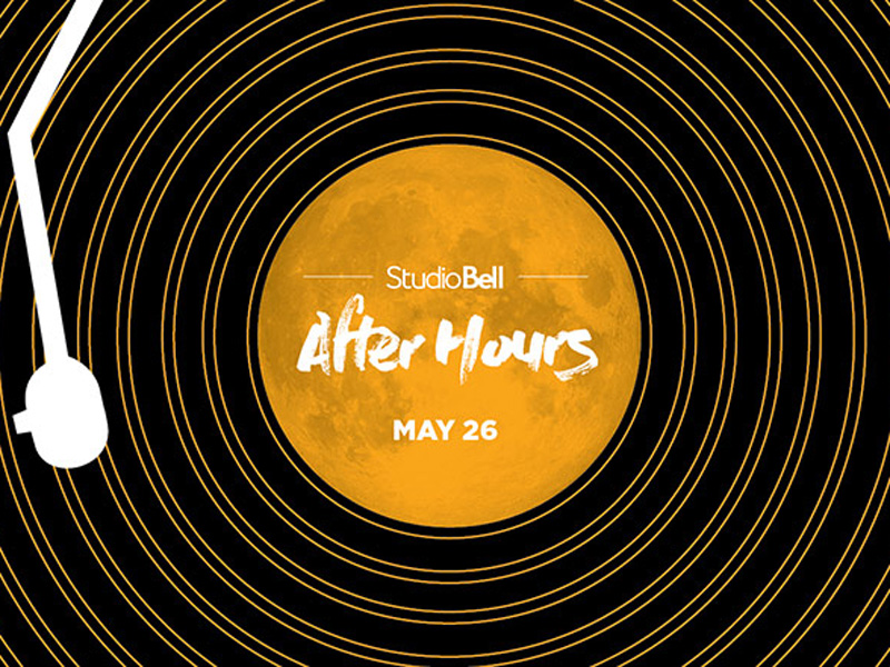 Poster for Studio Bell After Hours May 2017