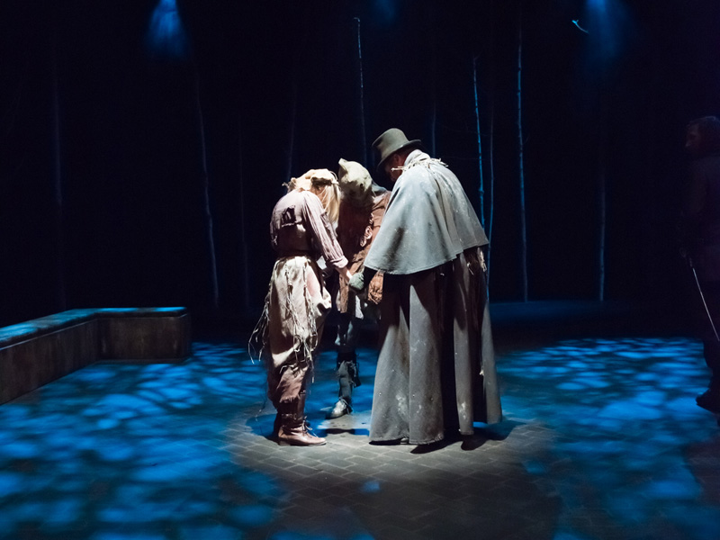 Photo from The Shakespeare Company's production of Macbeth