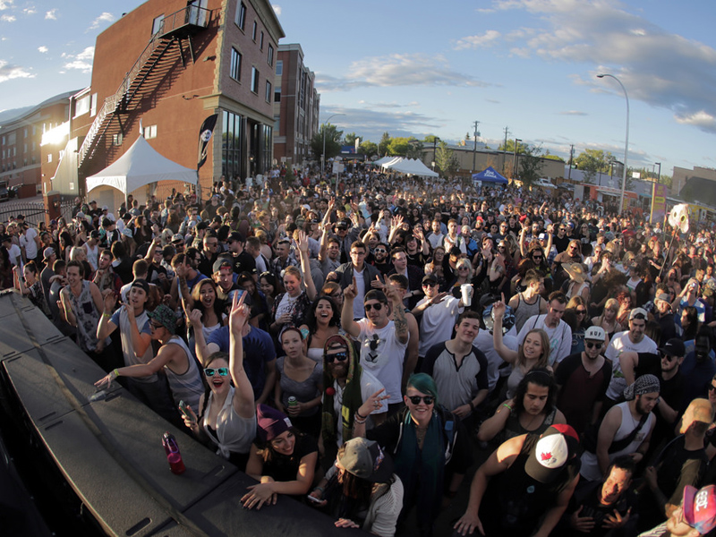 Sled Island Block Party