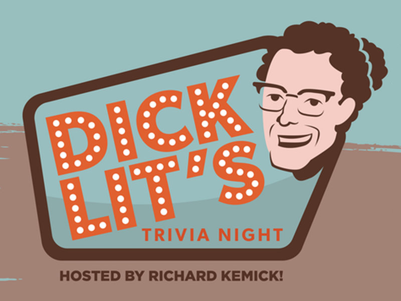 Poster for Dick Lit's Trivia Night #2