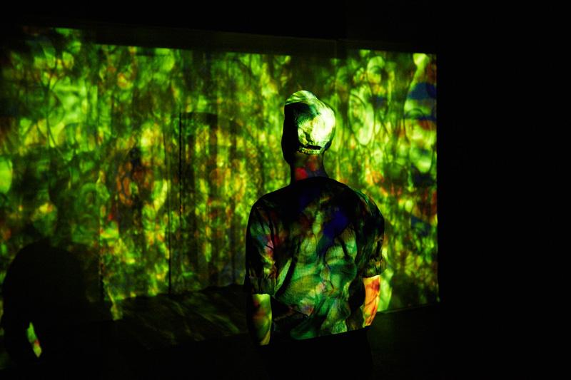 Sandra Vida's haunting installation, PORTAL