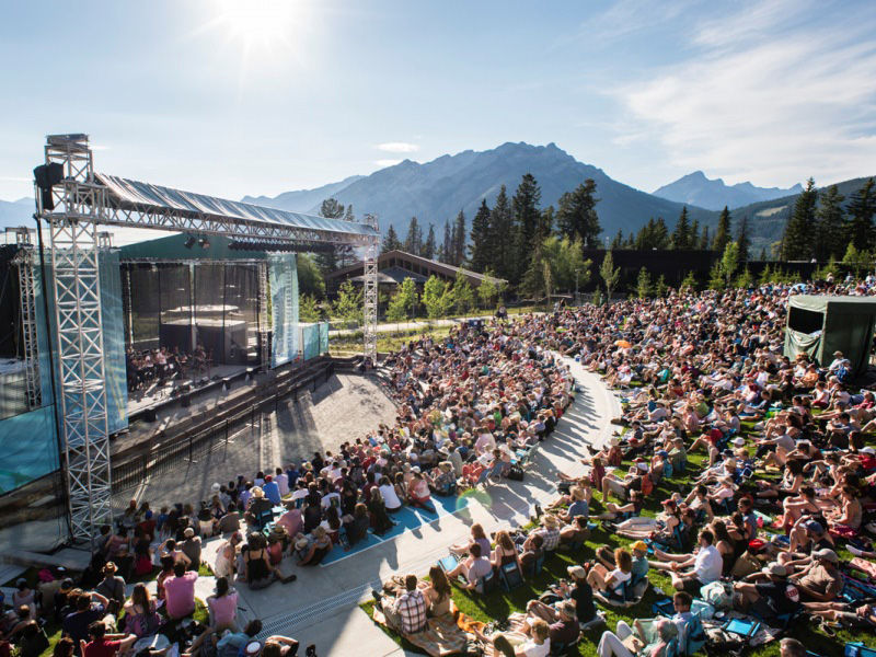 Shaw Amphitheatre at Banff Centre for Arts and Creativity