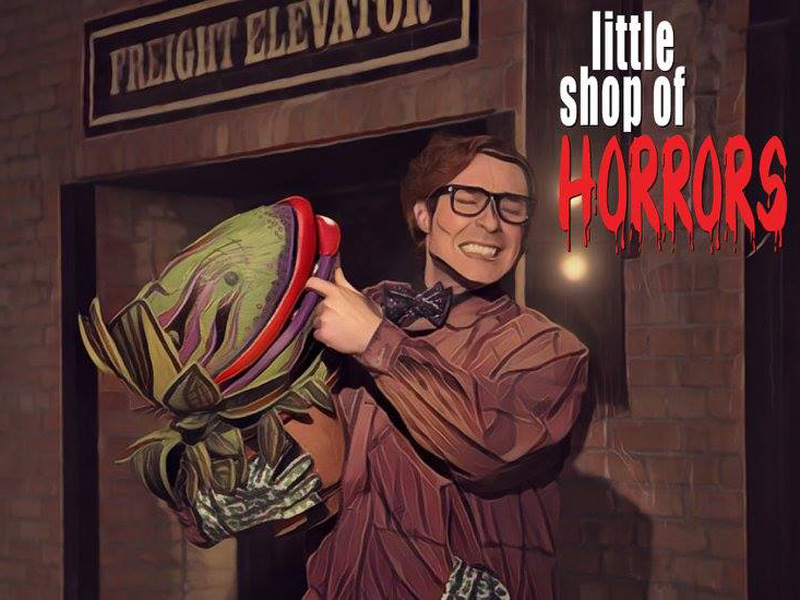 Photo from Front Row Centre's production of Little Shop of Horrors