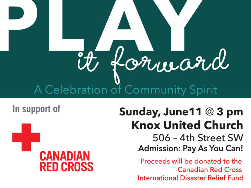 Poster for Play it Forward