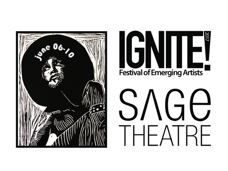 Poster for IGNITE! Festival of Emerging Artists