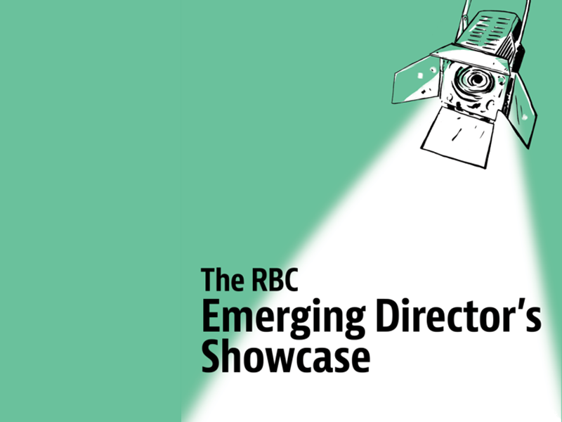 Poster for The RBC Emerging Director's Showcase