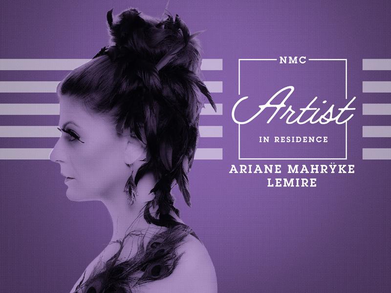 Poster for Ariane Mahrÿke Lemire's workshop at NMC