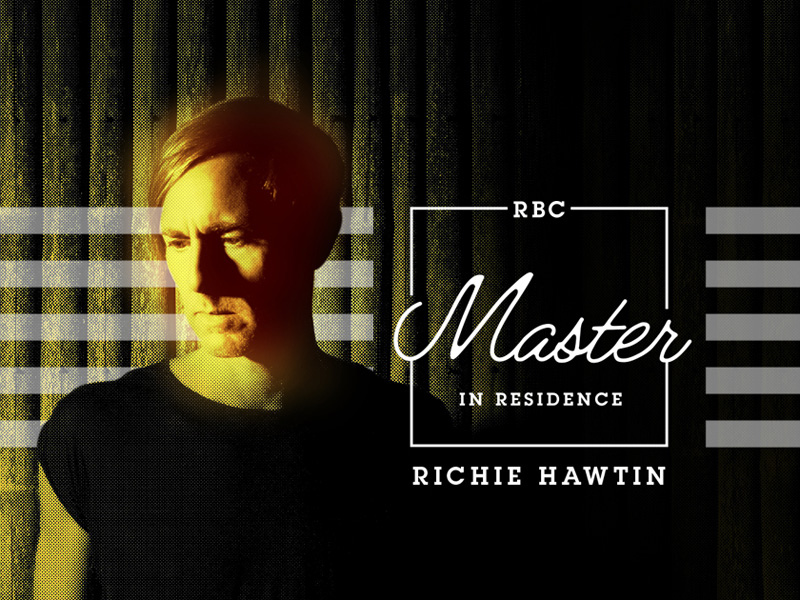 National Music Centre RBC Master in Residence Richie Hawtin