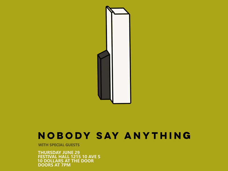 Poster for Nobody Say Anything