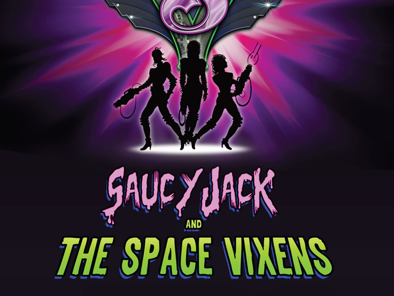 Poster for Saucy Jack and the Space Vixens