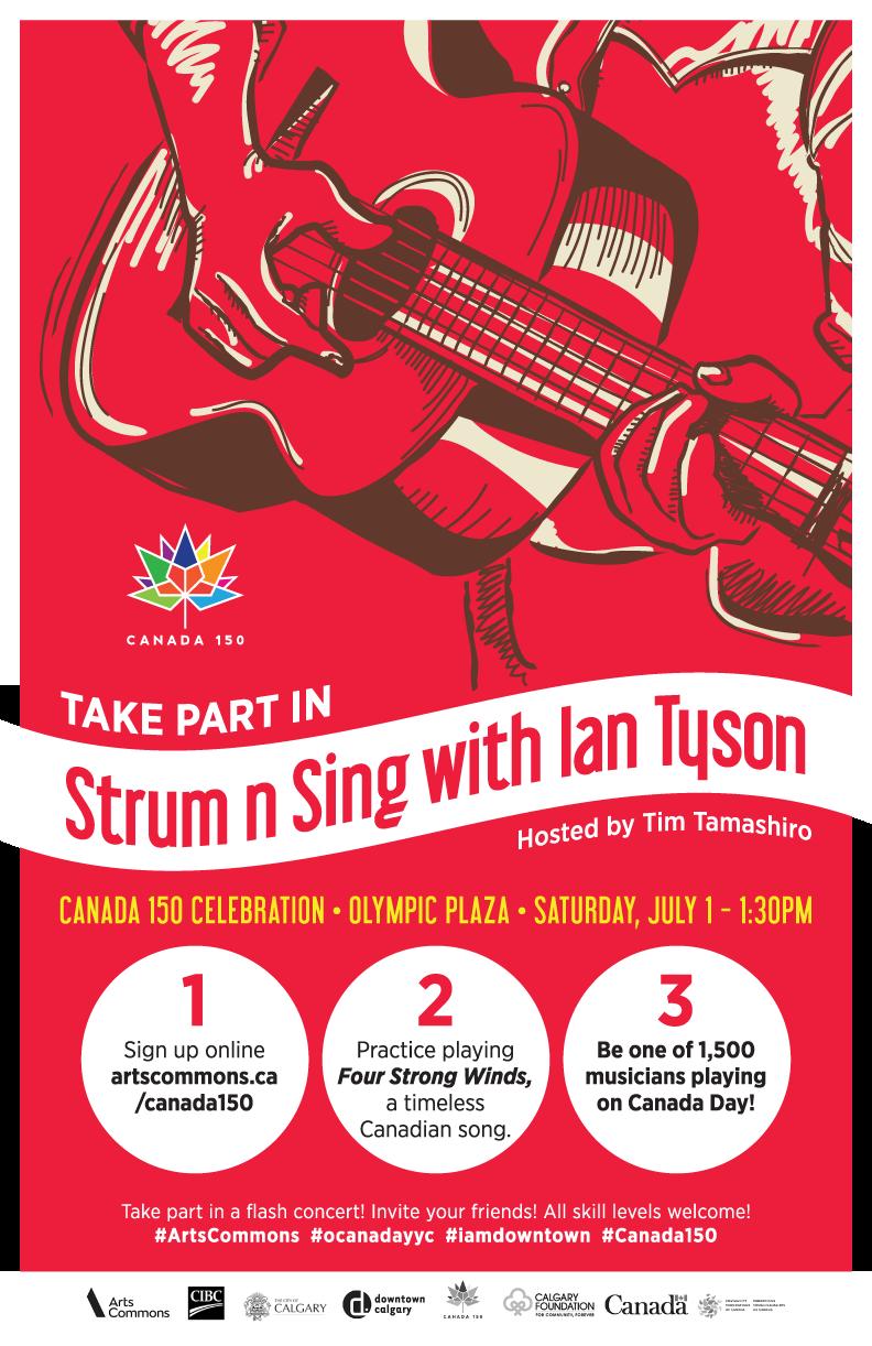 Strum N Sing Poster