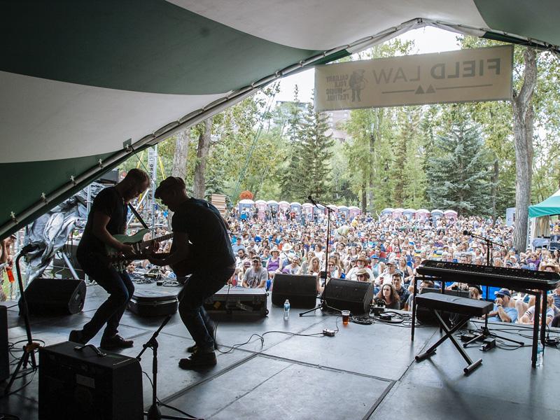 Foy Vance performs at the Calgary Folk Music Festival