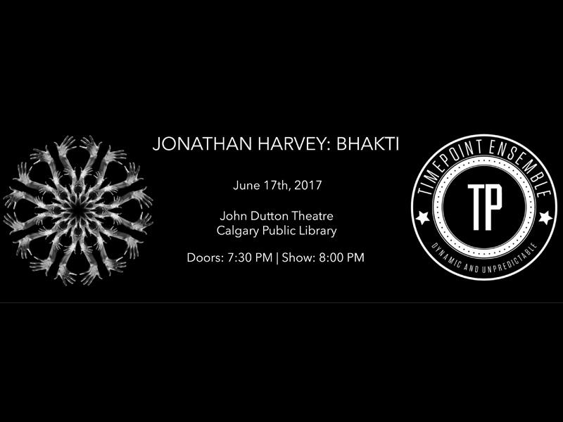 Poster for Jonathan Harvey: Bhakti