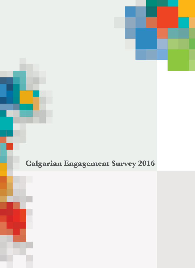 Calgarian Engagement Survey 2016 Cover