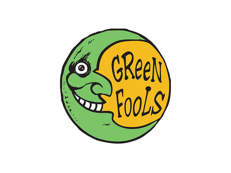 Green Fools Theatre logo