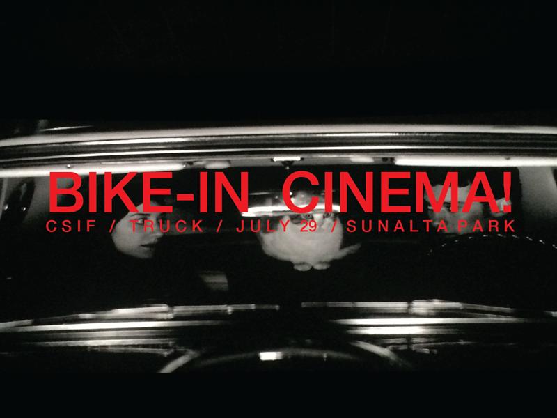 Poster for Bike-In Cinema