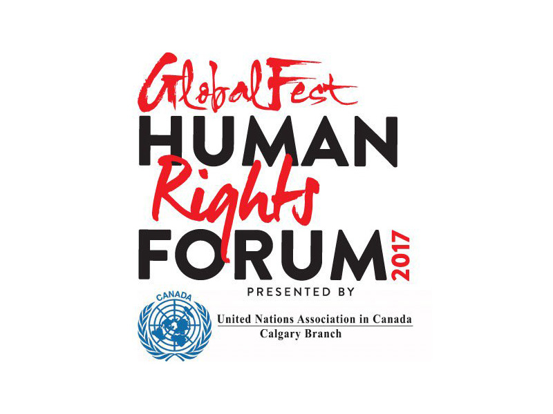 Poster for GlobalFest Human Rights Forum
